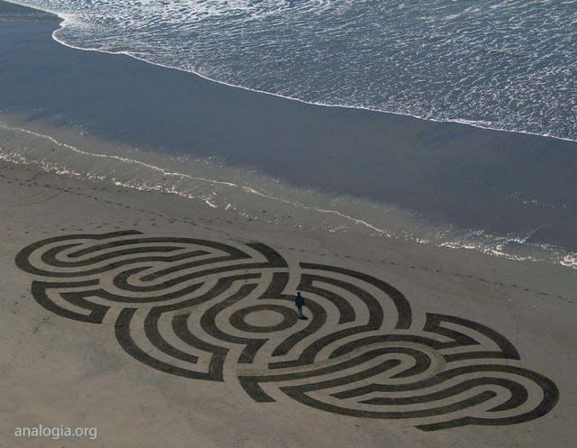 Рисунки на песке: Рис.18