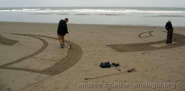 Рисунки на песке: Рис.21