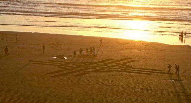 Рисунки на песке: Рис.22
