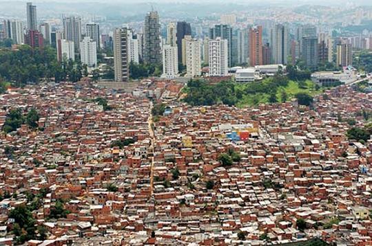 Бразильские фавелы: Рис.2