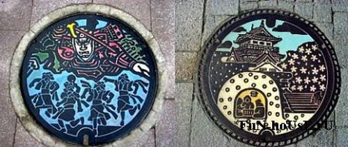 Крышки люков в Японии: Рис.8