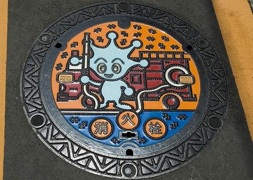 Крышки люков в Японии: Рис.12