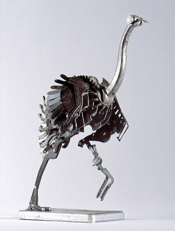 Скульптуры из металла: Рис.2