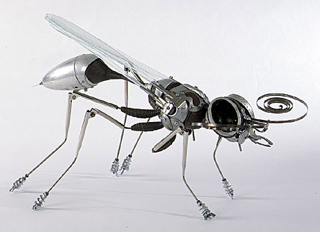 Скульптуры из металла: Рис.9