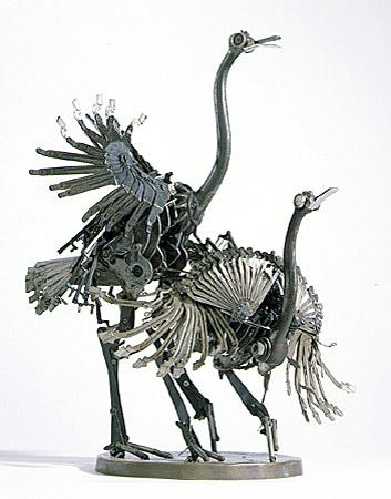 Скульптуры из металла: Рис.14