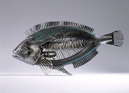 Скульптуры из металла: Рис.19