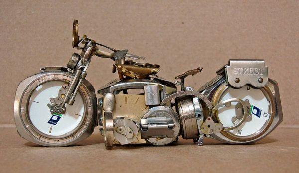 Миниатюрные мотоциклы: Рис.2