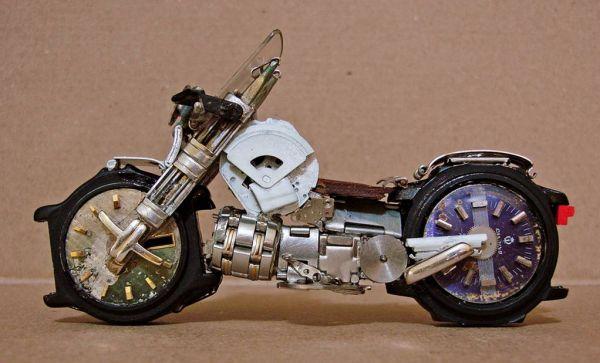 Миниатюрные мотоциклы: Рис.4