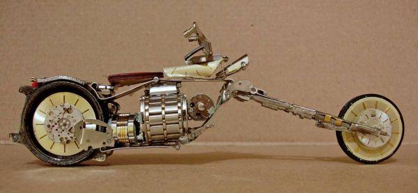 Миниатюрные мотоциклы: Рис.5