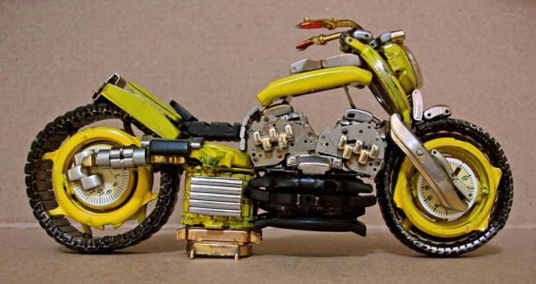 Миниатюрные мотоциклы: Рис.7