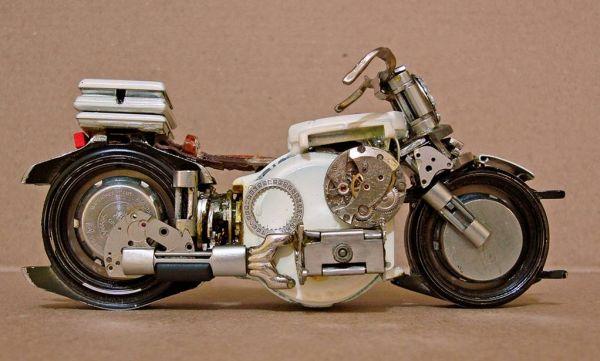 Миниатюрные мотоциклы: Рис.8