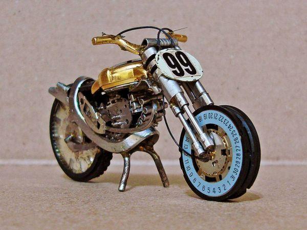 Миниатюрные мотоциклы: Рис.9