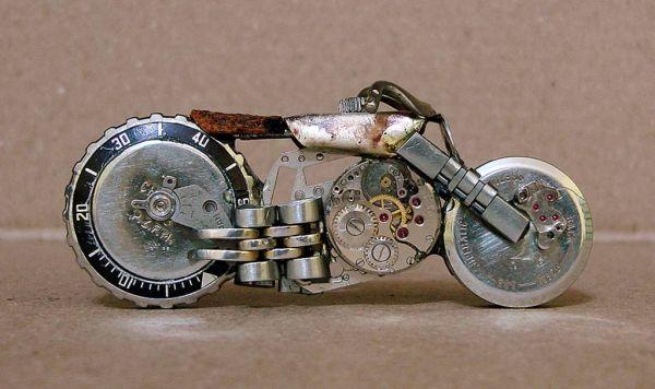 Миниатюрные мотоциклы: Рис.10