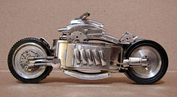 Миниатюрные мотоциклы: Рис.11