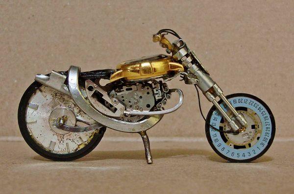 Миниатюрные мотоциклы: Рис.12