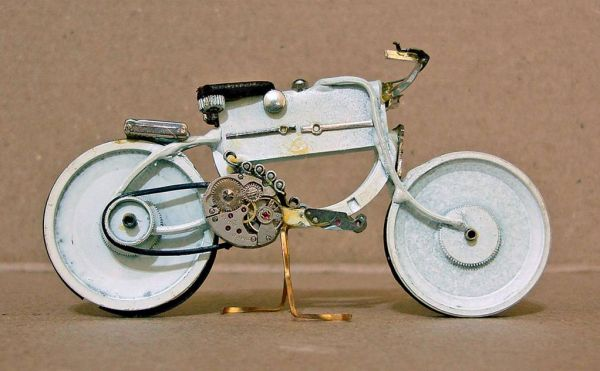 Миниатюрные мотоциклы: Рис.13