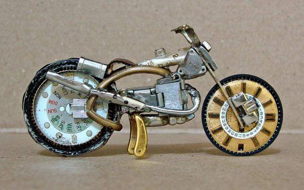Миниатюрные мотоциклы: Рис.14