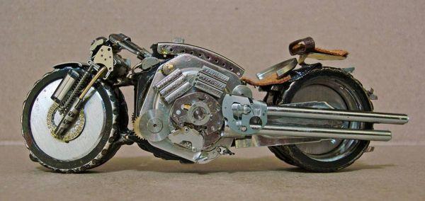 Миниатюрные мотоциклы: Рис.15