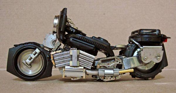 Миниатюрные мотоциклы: Рис.16