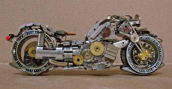 Миниатюрные мотоциклы: Рис.18