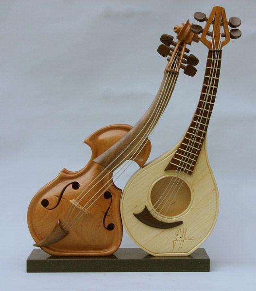 Креатив из скрипок: Рис.10