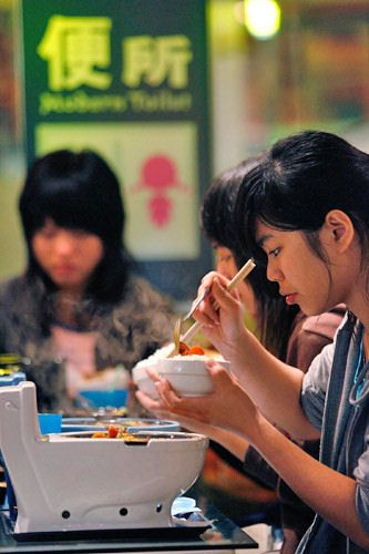 Ресторан в Тайване: Рис.13