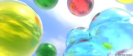 Цветные мыльные пузыри: Рис.1