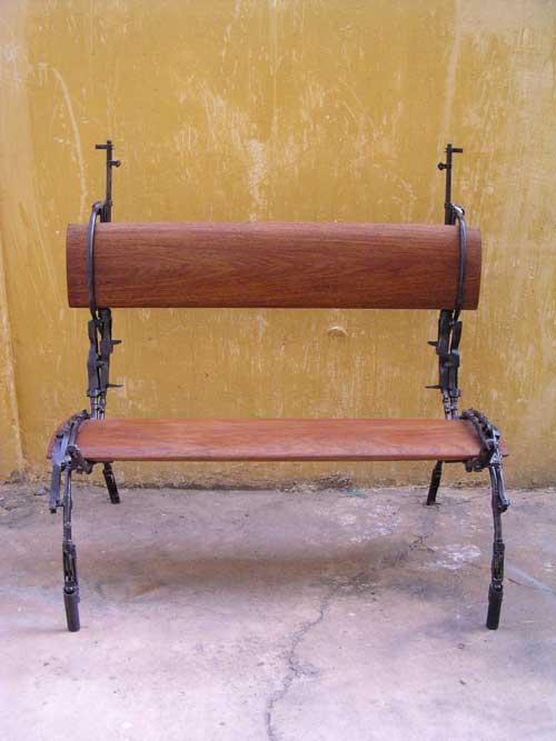 Скульптуры из оружия: Рис.7