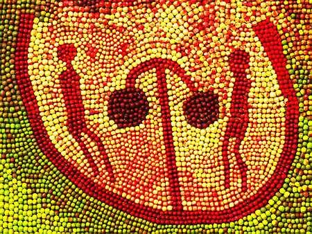 Яблочные картины: Рис.4