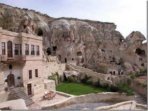 Пещерная гостиница: Рис.1