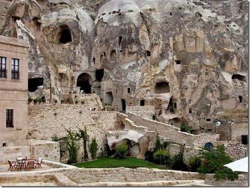 Пещерная гостиница: Рис.2