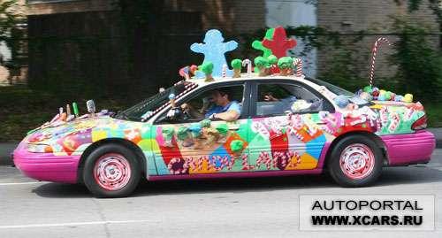 Необычные автомобили: Рис.25